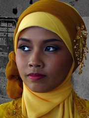 NIA (*Cak Noor*) Tags: portrait woman beautiful hijab globalvillage smorgasbord theface 35faves globalcity aplusphoto invitedphotosonly gvadminshalloffame itsabeautifulgv ysplix theunforgettablepictures excapture 100commentgroup memorycornerportraits