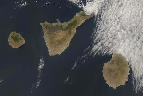 Fires in Canary Islands