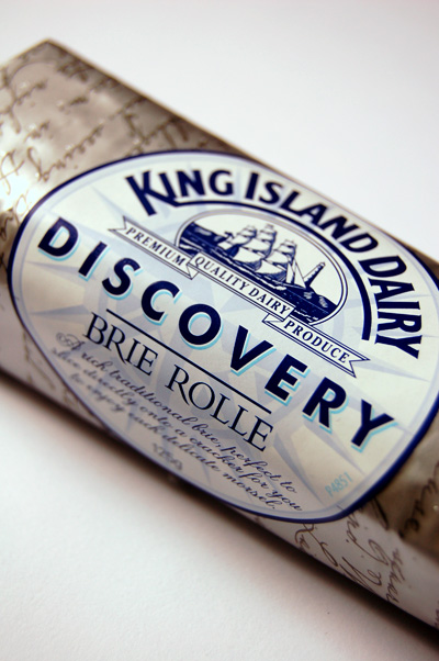 King Island Dairy Brie Rolle© by Haalo