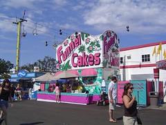 HUGE Funnel Cake Display