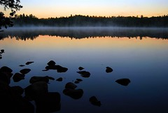 Sawbill Lake at Dawn (scottograph) Tags: camping lake minnesota dawn nikon canoe waters wilderness boundary boundarywaters bwca bwcaw sawbill aplusphoto d40x