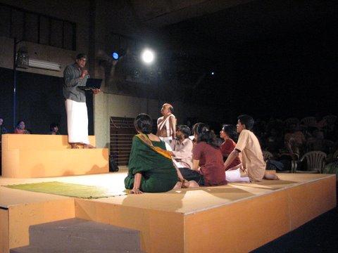 scenes from Swayamvaraloka by Prakash Belawadi