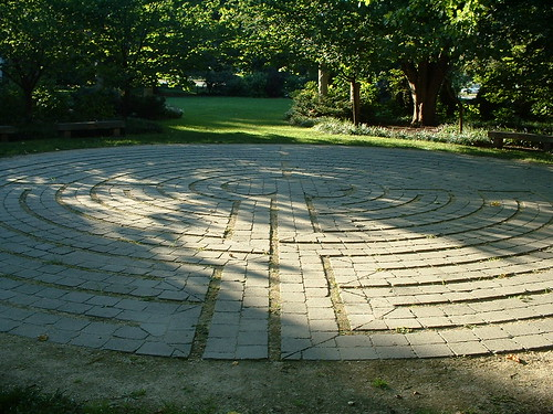 Labyrinth at OSU's Chadwick Arboretum