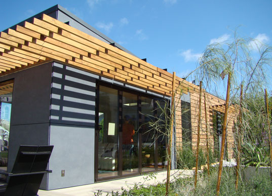 Michelle Kaufman's MKLotus Green Prefab House, Eco Prefab, Zero Energy Prefab, Michelle Kaufman Designs, MKDesigns, Zero-Energy Prefab, Sustainable Prefab, West Coast Green, City Hall, Jill Fehrenbacher