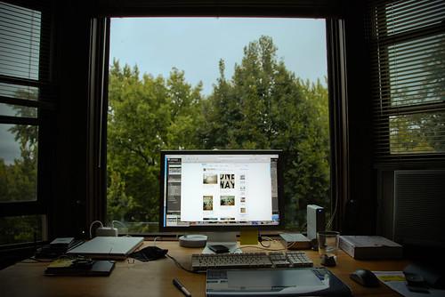 окно в природу рабочее место