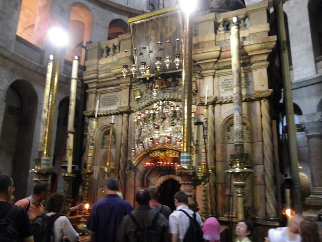 Final Station of the Cross, Church of the Holy Sepulchre