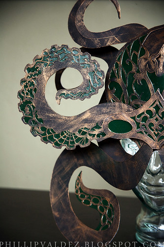 Octopus Mask-half left