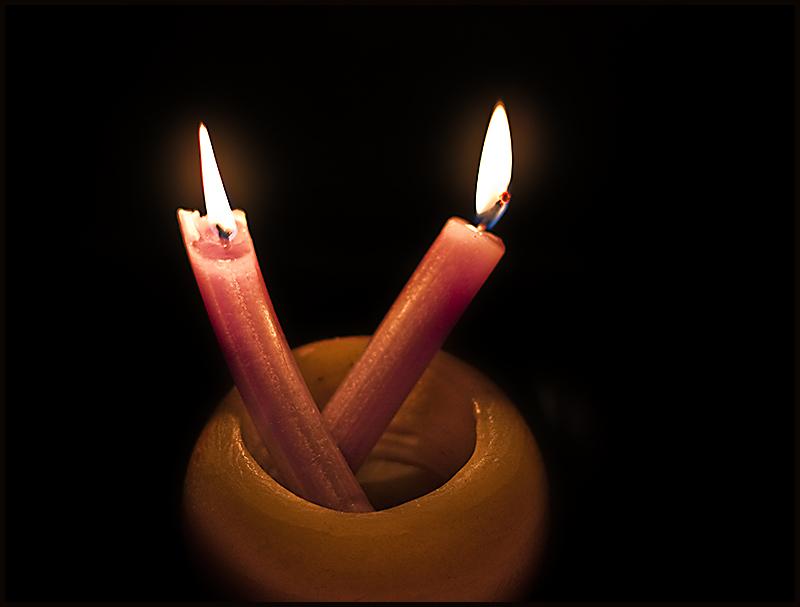 ... por encender otra vela