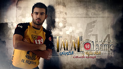 Talal Al.aamr ... !! (Bally AlGharabally) Tags: wallpaper man sport youth club model perfect photographer designer 14 young handsome player sporting rai  talal telecom bally    wataniya qadsia      gharabally algharabally    alaamr