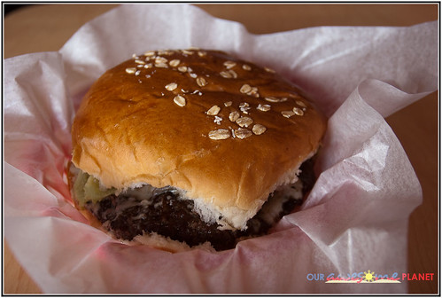 Bite Club's Bombarella 7in. Burger (P245)