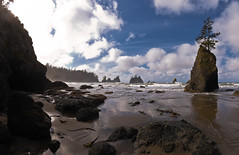Point of Arches (absencesix) Tags: ocean travel trees sky panorama plants usa nature water weather clouds iso100 washington october rocks waves unitedstates olympicpeninsula noflash pacificocean northamerica 16mm locations 2010 seastack locale manualmode 1635mm shishibeach pointofarches canoneos30d camera:make=canon geo:state=washington exif:make=canon exif:iso_speed=100 objectsthings hasmetastyletag selfrating3stars exif:focal_length=16mm 2010travel 1100secatf11 geo:countrys=usa exif:model=canoneos30d camera:model=canoneos30d exif:lens=160350mm exif:aperture=11 subjectdistanceunknown clallambayneahbay october32010 olympicnationalpark1001201010032010 geo:lat=4824686 geo:city=clallambayneahbay geo:lon=124700148 4814487n12442053w clallambayneahbaywashingtonusa