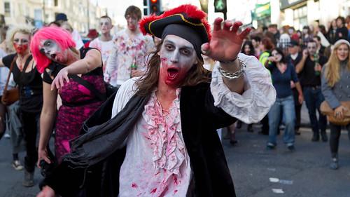 Brighton Zombie Walk 2010