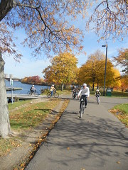 Urban AdvenTours - Emerald Necklace and Fall Foliage tour - 10.28.10 10AM Photo