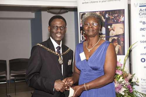 Volunteer up for her Active Citizens Award 2010
