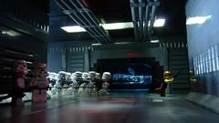 run, RUN... (Legoagogo) Tags: starwars lego solo stormtrooper han deathstar moc afol