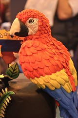 Pretty Polly ! (abbietabbie) Tags: cake birmingham competition nec cakeinternational goldawarddalilacabritadepena