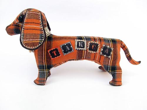 dachshund orange