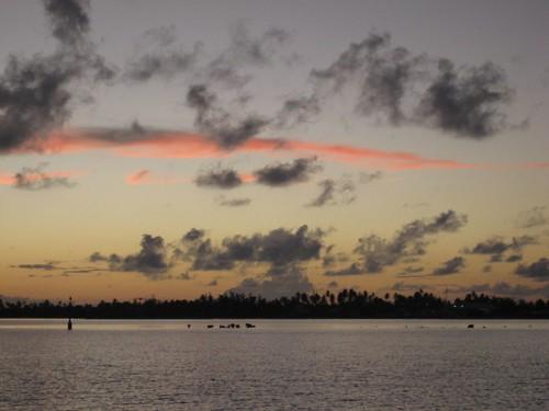 Makemo sunset