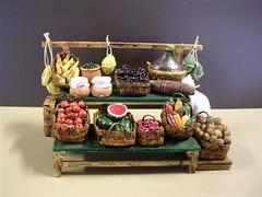 banco frutta e verdura (ElioZ) Tags: crib presepe presepio accessori