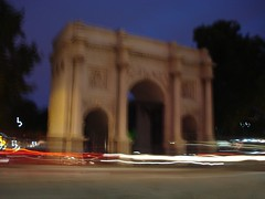 Marble Arch at Night