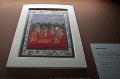 documenta 12 | Mihr Chand / Tanz beim Holi-Fest am Moghulhof | 2nd half 18th century (2. Hälfte 18. Jahrhundert) | Schloss Wilhelmshöhe