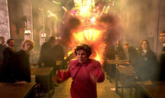 Dolores Umbridge runs away
