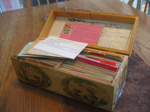 Old Recipe Box