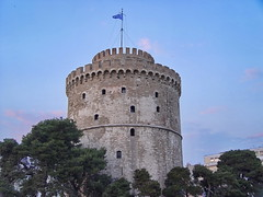 Thessaloniki White Tower- ( zopidis ) (Zopidis Lefteris) Tags: hellas greece thessaloniki prefecture allrightsreserved whitetower salonica ellas ellada salonika sonydsc717 lefteris  eleftherios     zop     zopidis zopidislefteris  prefectureofthessaloniki   leyteris            thessalonici photographerczopidislefteris c heliographygroup heliographygroupmember photographerzopidislefteris  photographerzopidislefterisc c  allphotosarecopyrightedbyzopidislefteris  copyright
