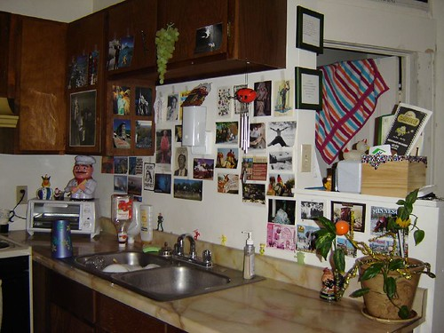 My old kitchen.