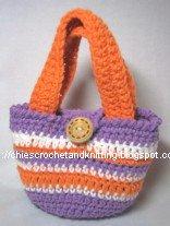 Crochet Bag Patterns on Pinterest