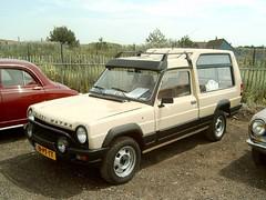1984 Talbot (Simca) Matra Rancho (Davydutchy) Tags: netherlands classiccar oldtimer veteran scar zandvoort rancho simca frenchcar matra tcar rcar thebiggestgroup mcar