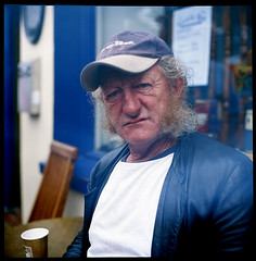 Kerry Man.ie (Buck Lewis) Tags: ireland portrait people man color 120 film rolleiflex killarney kenmare thephotoholic