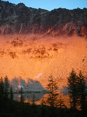Alpenglow at Star Lake