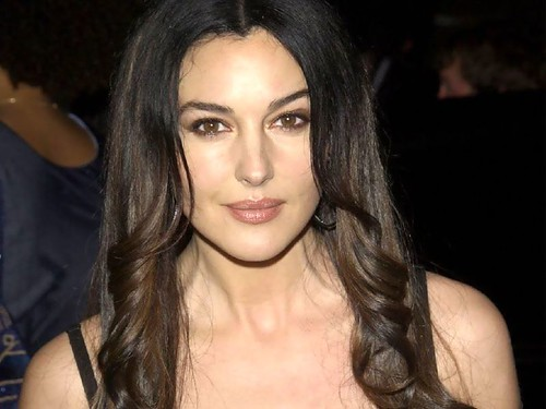 Monica Hair Styles: New Life Style: New Monica Bellucci Hairstyle