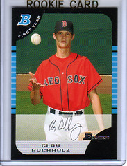 2006 Bowman Update BDP81 Clay Buchholtz RC