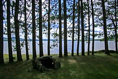 Measham Lake (Northwest haidaan) Tags: county shadow lake newyork franklin upstate adirondacks campfire pines measham