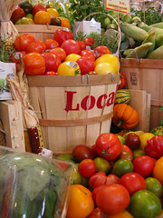tomatoes at the gourmet garage by rocketlass, on Flickr