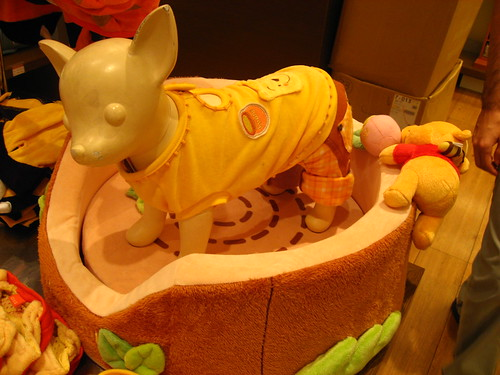 A Winnie the Pooh outfit for dogs