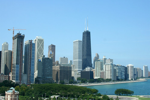 Chicago skyline, north