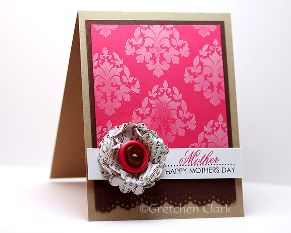 damask smooshy flower mothers day