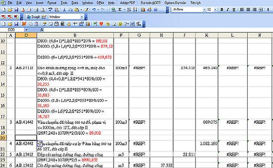 4725914700 a211903d90 b Một số lỗi khi sử dụng dự toán 97/2009 và cách khắc phục.