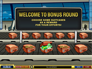 free Global Traveler gamble bonus game