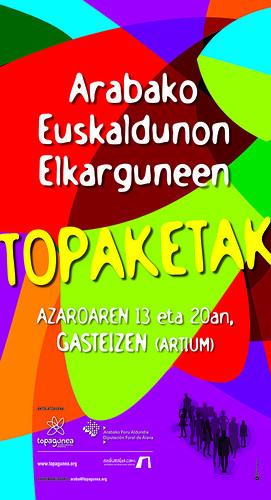 Arabako Topaketak - Kartela