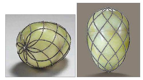 005-Huevo con malla de diamantes 1892-Faberge