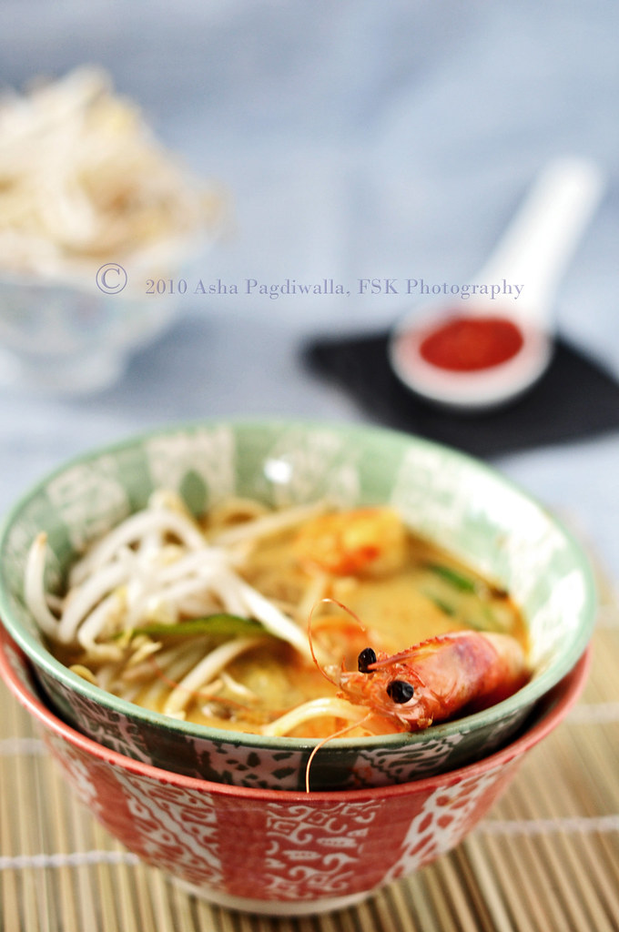 Laksa Lemak close up