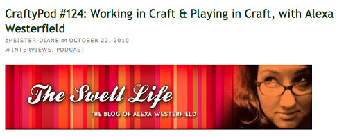 I'm on Craftypod!