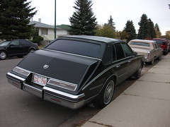 Cadillac Seville (dave_7) Tags: roof black car vinyl seville cadillac 80s caddy