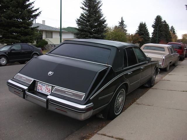 roof black car vinyl seville cadillac 80s caddy