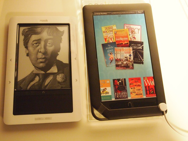 Kindle Vs Sony Reader: Barnes & Noble And Its Nook Color (Android EBook Reader