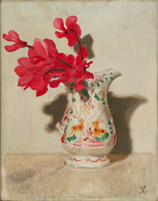 Sir William Nicholson, Cyclamen, 1937